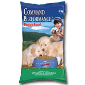 command performance puppy food